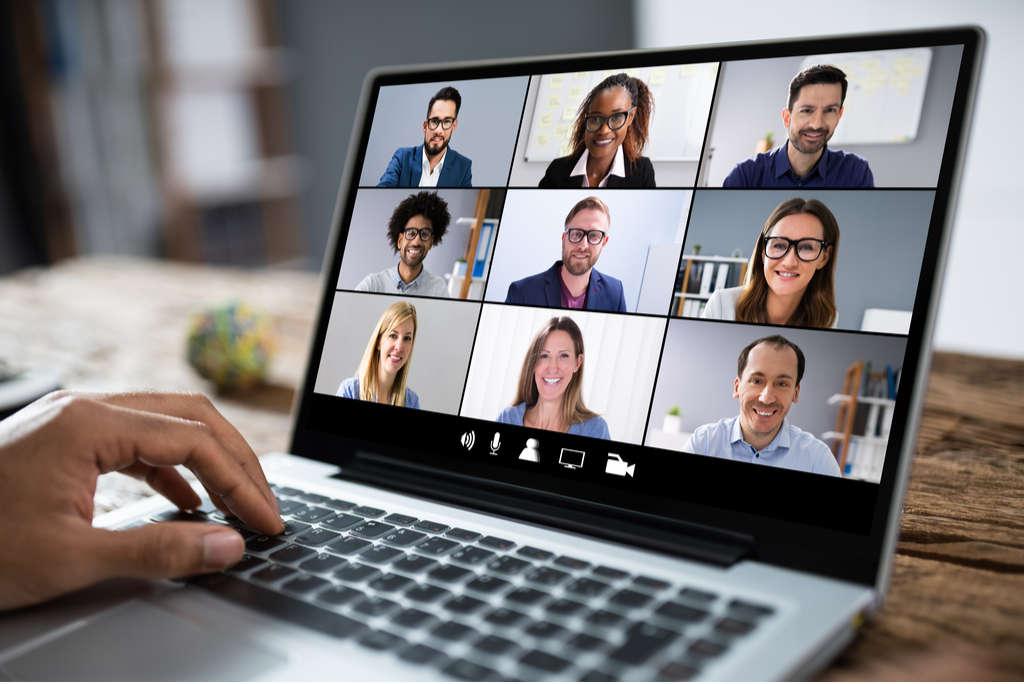 Poster on Safe Behavior in Virtual Meetings