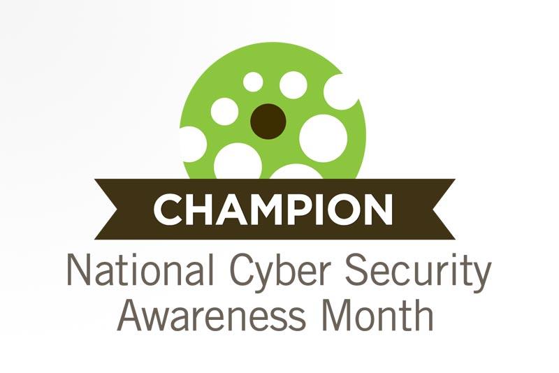 Mes Nacional de Concientización sobre Seguridad Cibernética Logo