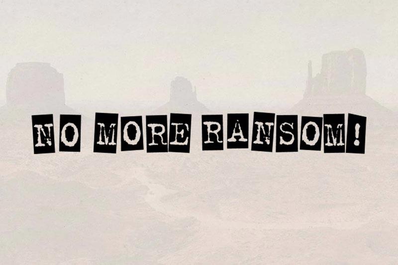 No More Ransom Logo